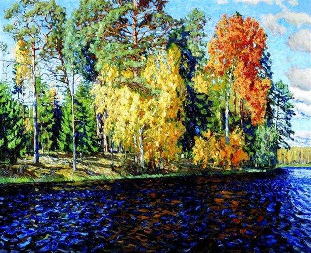 картинки на тему золотая осень