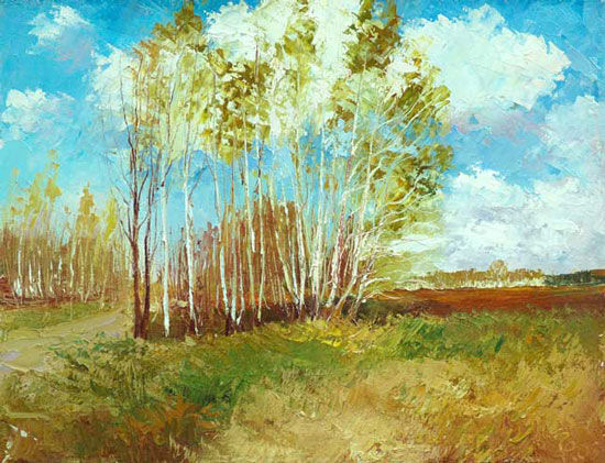 В картинах русских художников
