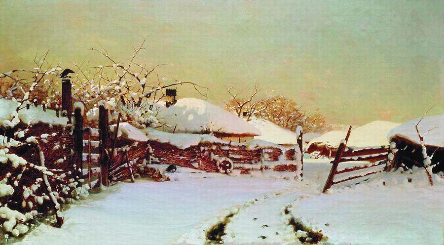 Горбатов к и зима оттепель 1910