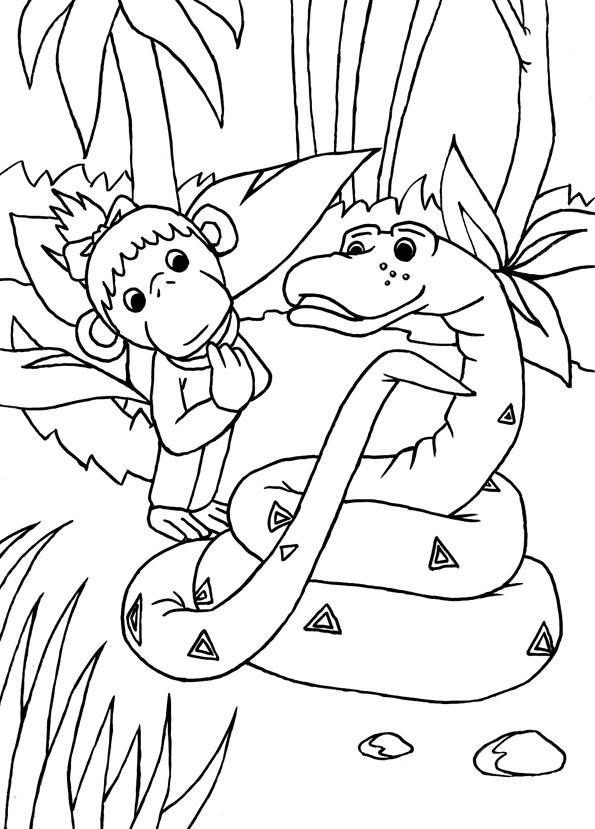 Мартышка и Удав