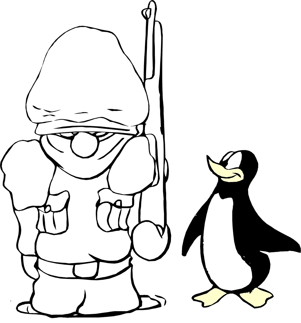Printable coloring pictures of penguins Free Printable Coloring Pages for Kids and Adults