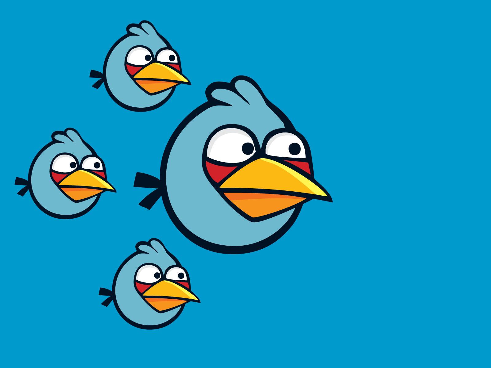 Angry Birds: армия голубых птичек летит в бой!