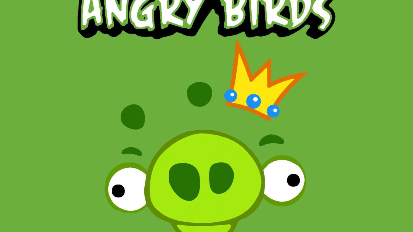 Зелёные обои (Bad Pig)