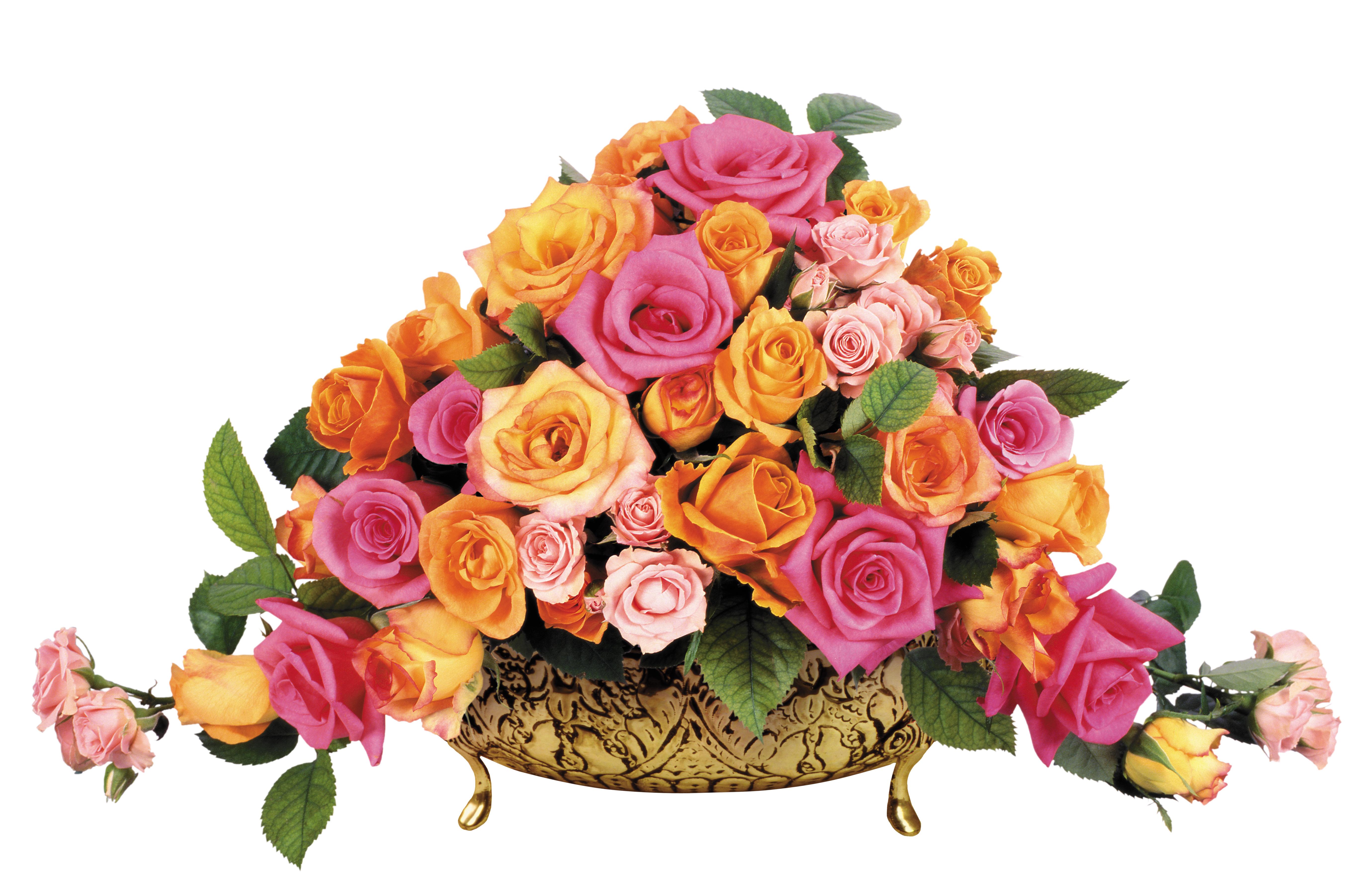 Цветы от фото png