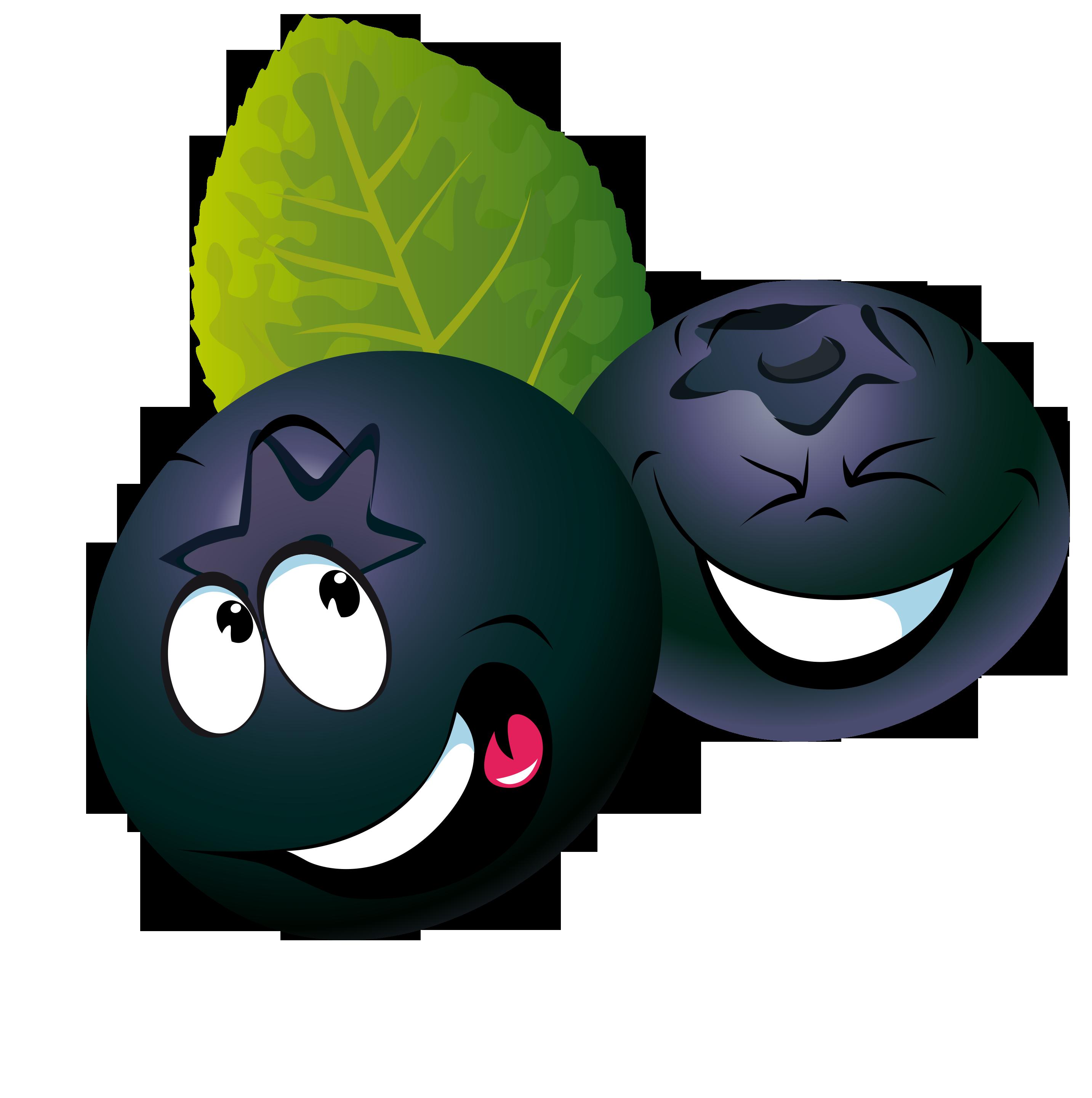 Ягодки черники