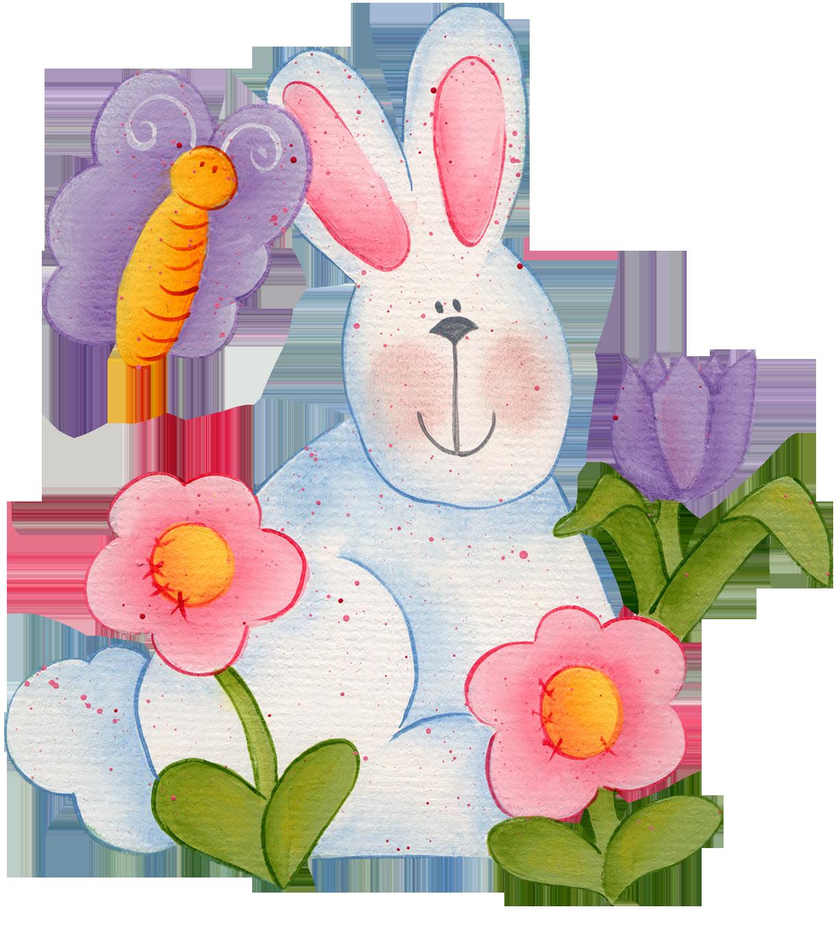 Заяц с цветком картинки 8