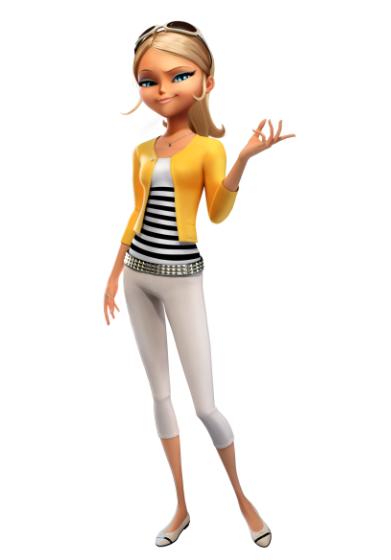 Хлоя — одноклассница Маринетт и Адриана