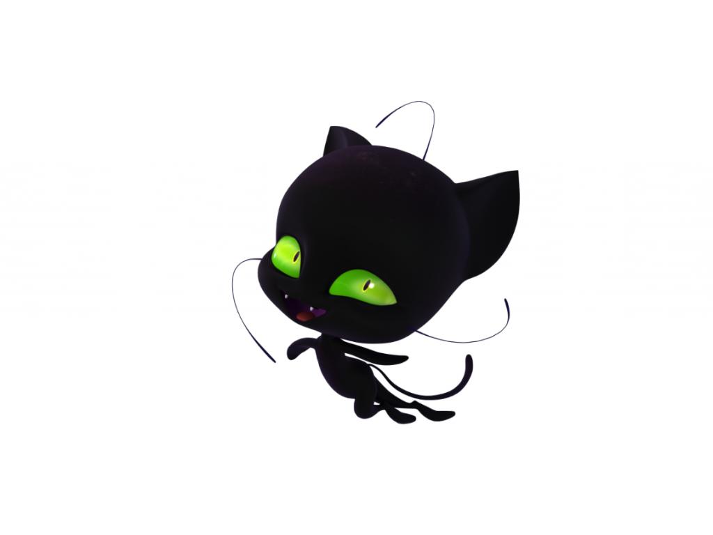 Плагг - квами-черный кот