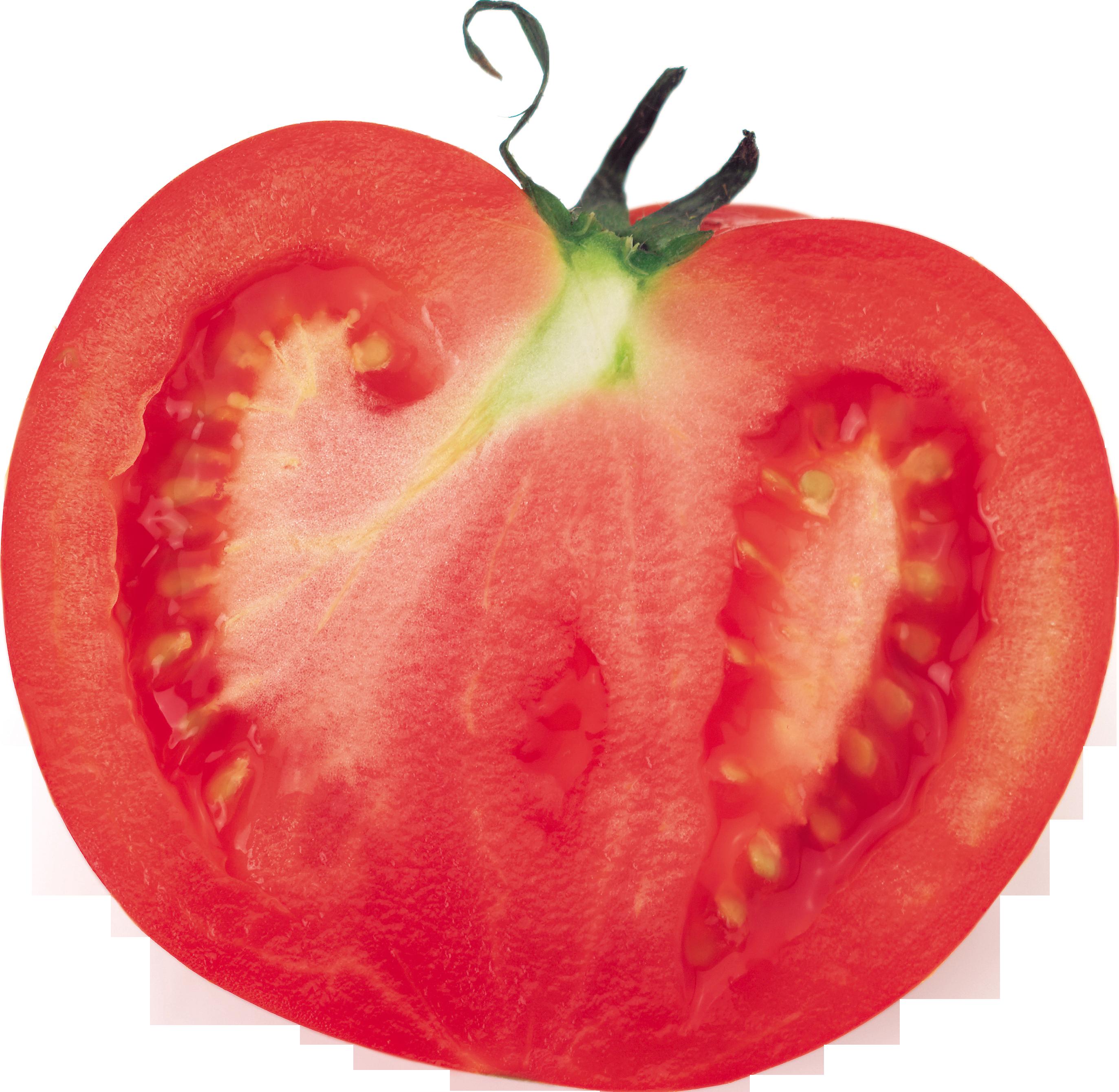 Половинка помидора