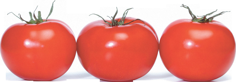 Три помидора в ряд