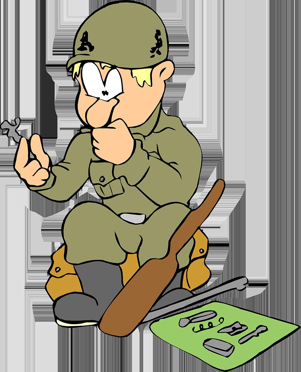 Анимационные картинки про армию веселые