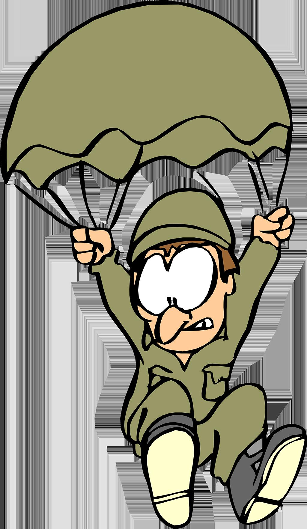 чета анимация парашютист на прозрачном фоне нас