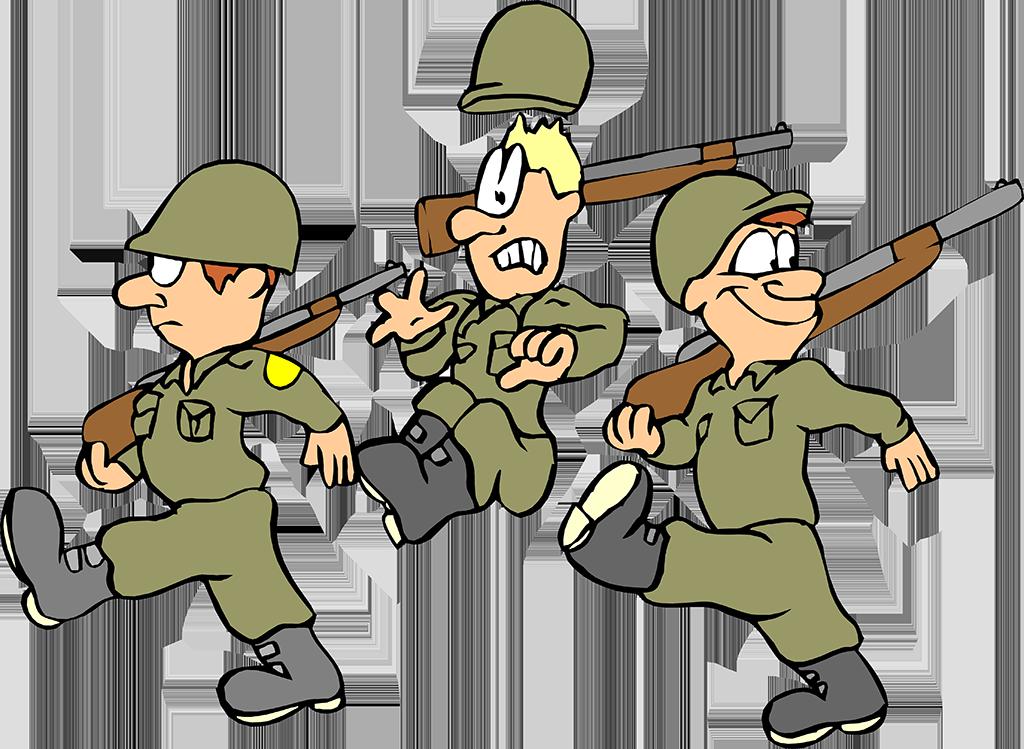 Прикольные солдатики на 23 февраля картинки