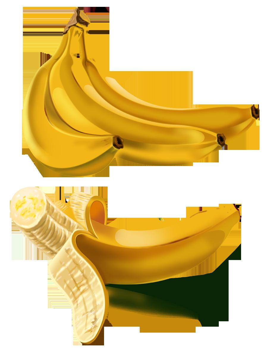 Прозрачные картинки банан