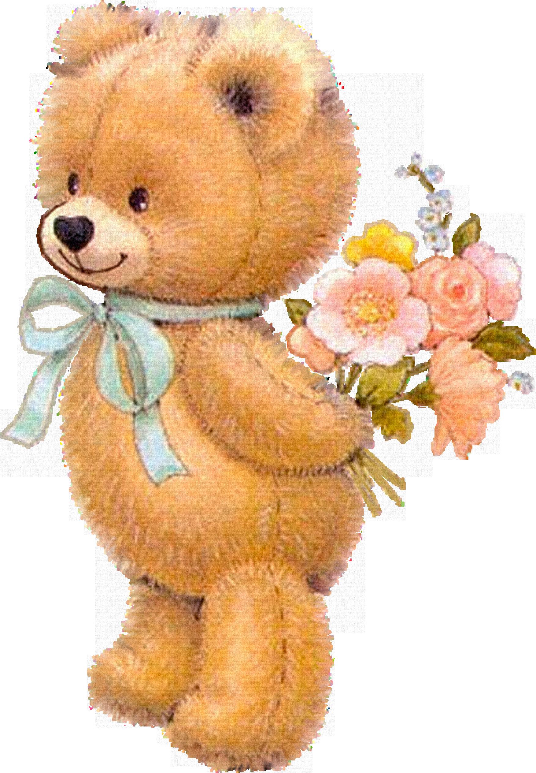 Открытки медведей