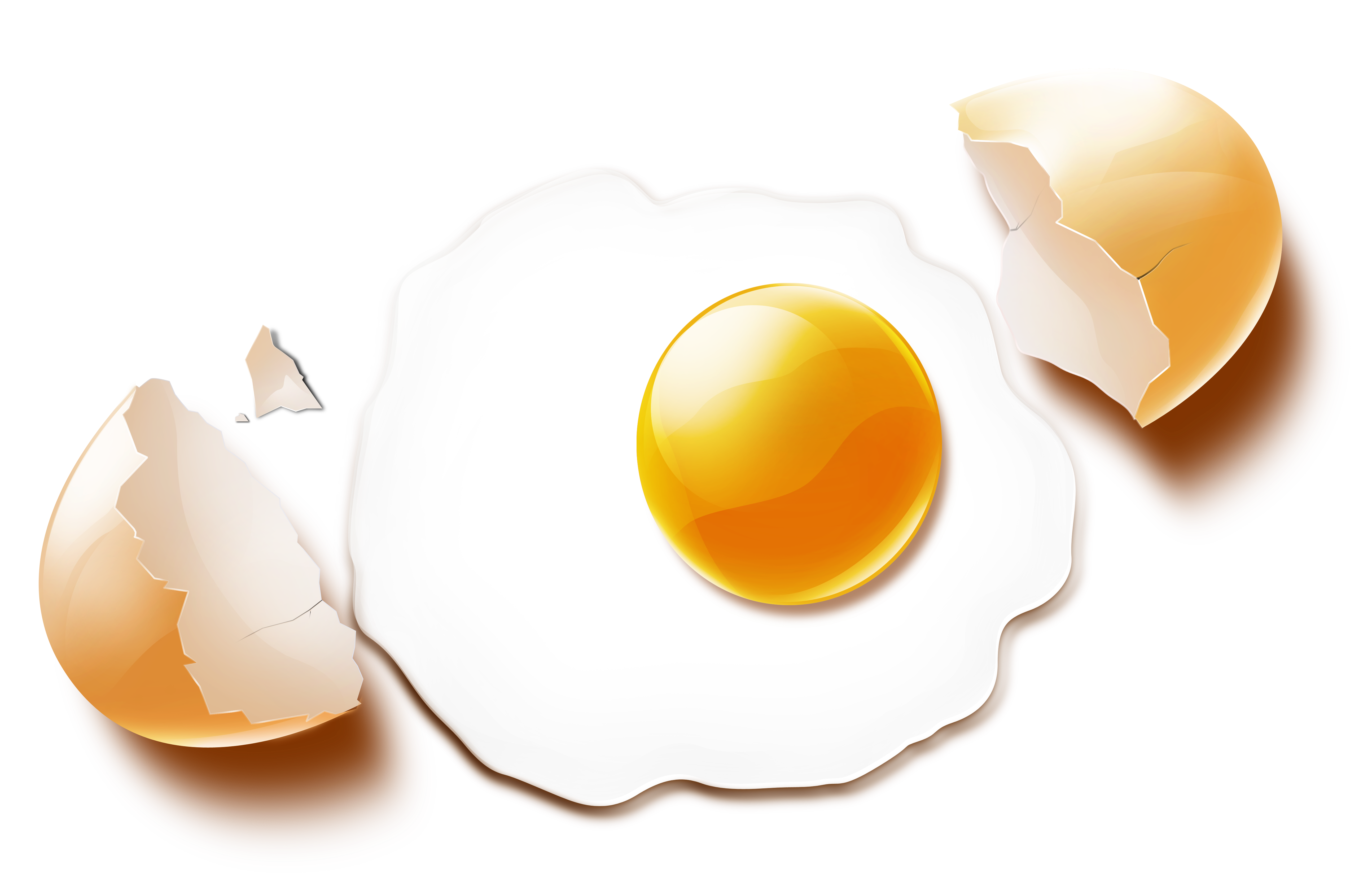 Картинка разбитое яйцо