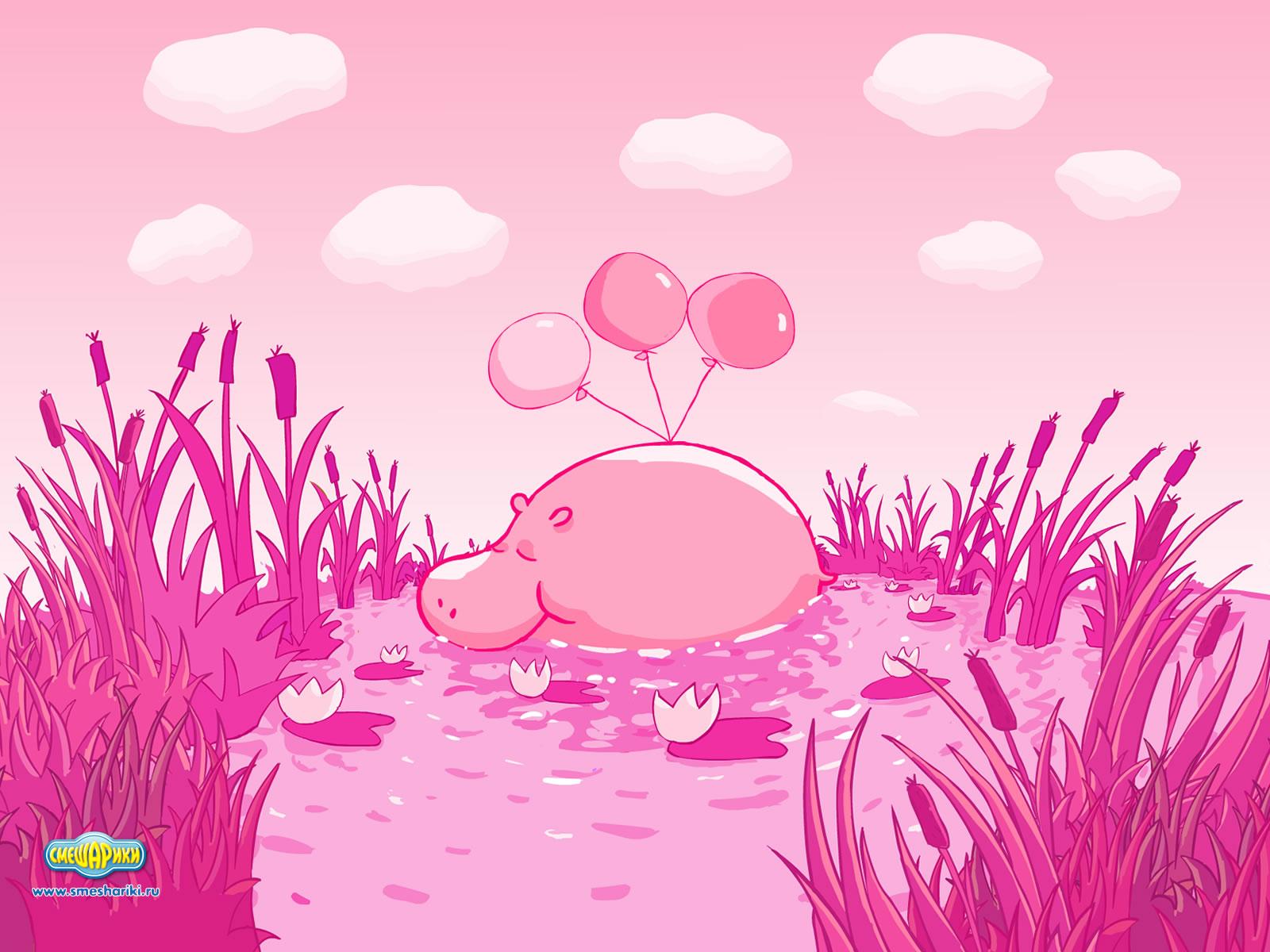 Картинки на обои очень красивые и розовые и мультяшные